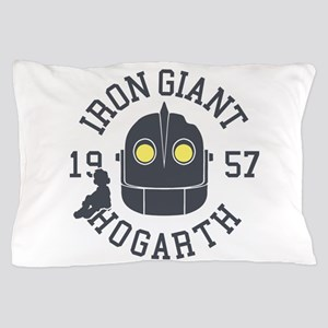 Iron Giant Hogarth 1957 Retro Pillow Case