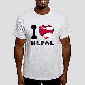 I Love Nepal Light T-Shirt