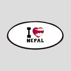 I Love Nepal Patch