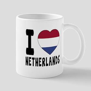 I Love Netherlands Mug