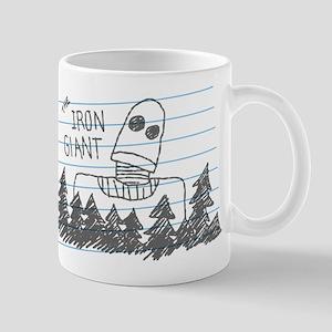 Iron Giant Doodle Mugs
