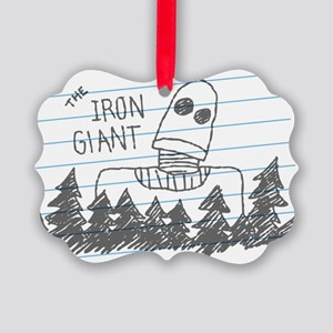Iron Giant Doodle Ornament