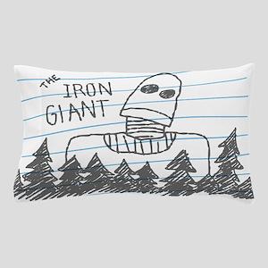 Iron Giant Doodle Pillow Case