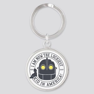 Iron Giant Luckiest Kid Hogarth Keychains