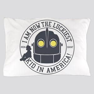 Iron Giant Luckiest Kid Hogarth Pillow Case