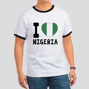 I Love Nigeria Ringer T