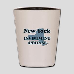 New York Investment Analyst Shot Glass