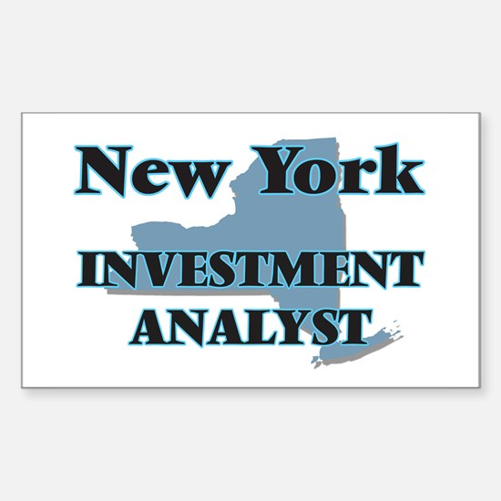 New York Investment Analyst Decal