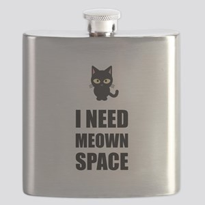 Need Meown Space Cat Flask