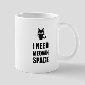 Need Meown Space Cat Mugs