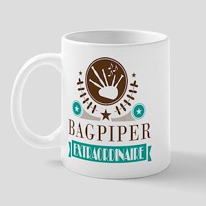 Bagpiper Extraordinaire Mugs