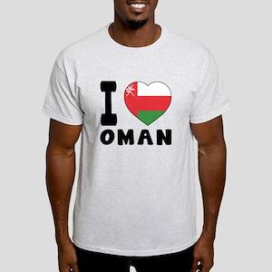 I Love Oman Light T-Shirt