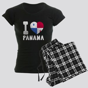 I Love Panama Women's Dark Pajamas