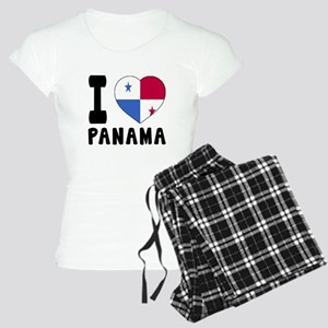 I Love Panama Women's Light Pajamas