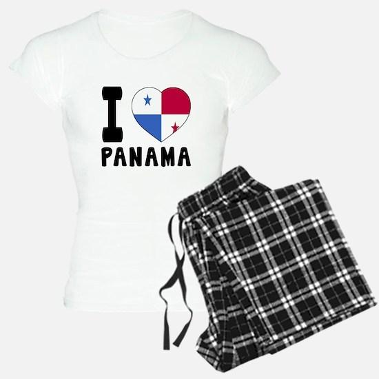 I Love Panama Pajamas