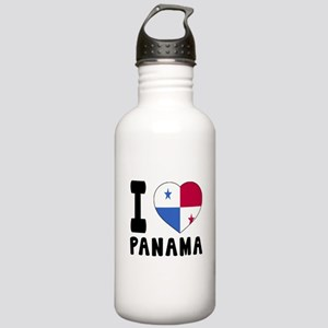 I Love Panama Stainless Water Bottle 1.0L