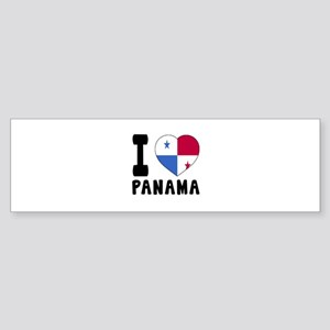 I Love Panama Sticker (Bumper)