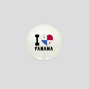 I Love Panama Mini Button