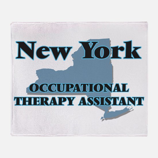 New York Occupational Therapy Assist Throw Blanket