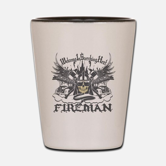 Welcome to Scorching Heat Shot Glass