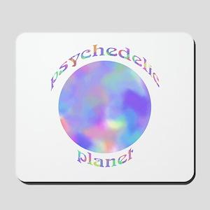 Pschedelic Planet Mousepad