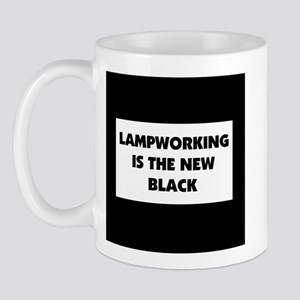 Lampworking is the New Black Mug