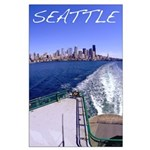 Seattle Ferry Poster 316