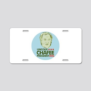 Lincoln Chafee President 2016 Aluminum License Pla