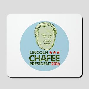 Lincoln Chafee President 2016 Mousepad