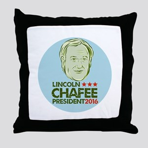 Lincoln Chafee President 2016 Throw Pillow