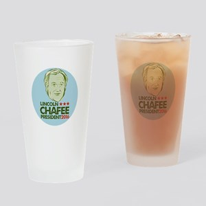 Lincoln Chafee President 2016 Drinking Glass
