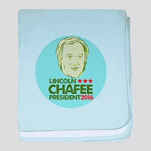 Lincoln Chafee President 2016 baby blanket