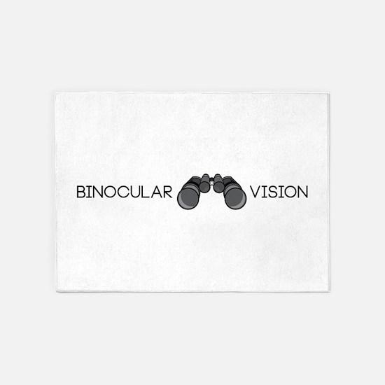 Binocular Vision 5'x7'Area Rug