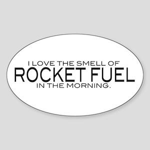 Rocket Fuel Oval Sticker
