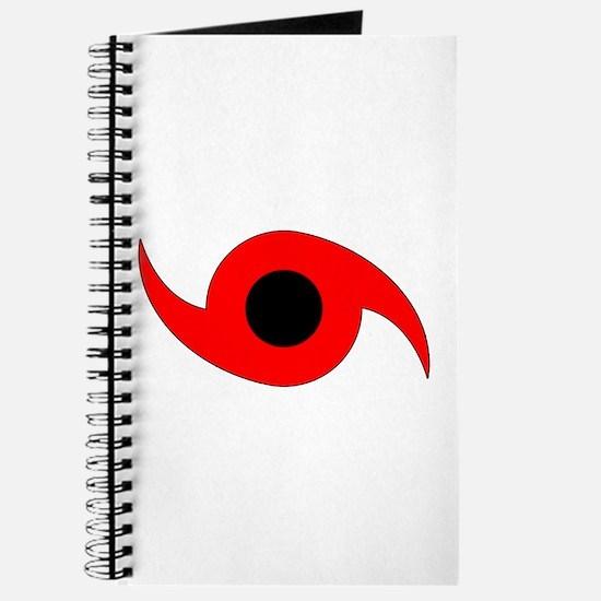 Horizontal Hurricane Symbol Journal