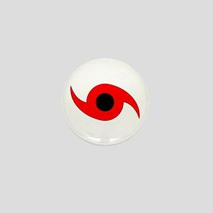 Horizontal Hurricane Symbol Mini Button
