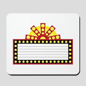 Broadway Sign Mousepad