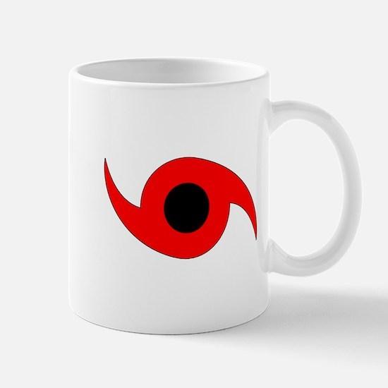 Horizontal Hurricane Symbol Mug