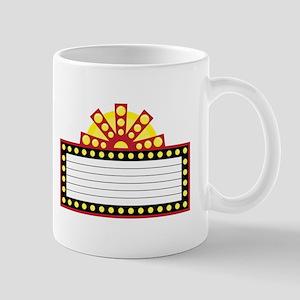 Broadway Sign Mugs