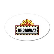 Broadway   Wall Decal