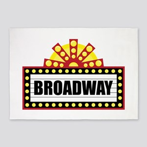 Broadway  5'x7'Area Rug