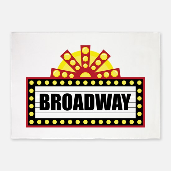 Broadway   5'x7'Area Rug