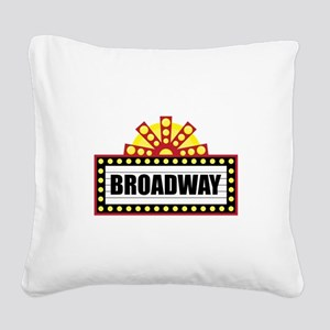 Broadway  Square Canvas Pillow