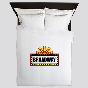 Broadway  Queen Duvet