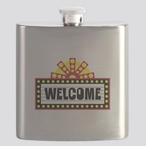 Welcome Sign Flask