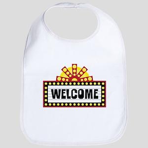 Welcome Sign Bib
