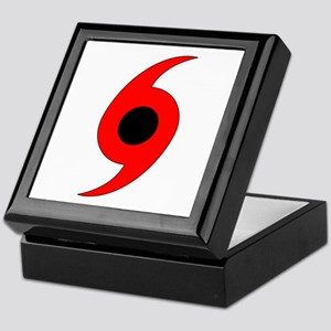 Hurricane Symbol Keepsake Box