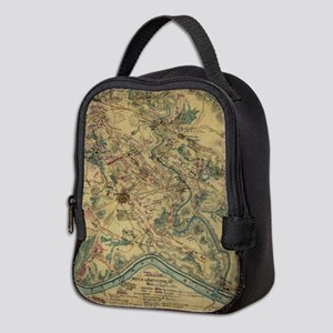 Vintage Antietam Battlefield Ma Neoprene Lunch Bag