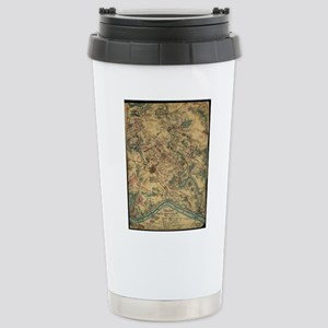 Vintage Antietam Battle Stainless Steel Travel Mug
