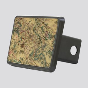 Vintage Antietam Battlefie Rectangular Hitch Cover